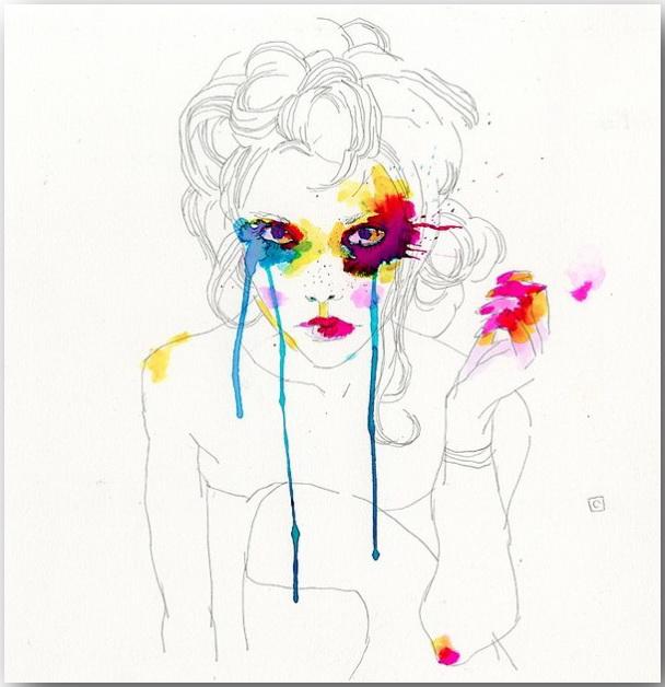 "Серия иллюстраций ""Muse""_Музы Конрада Розета (Conrad Roset)_art_12"