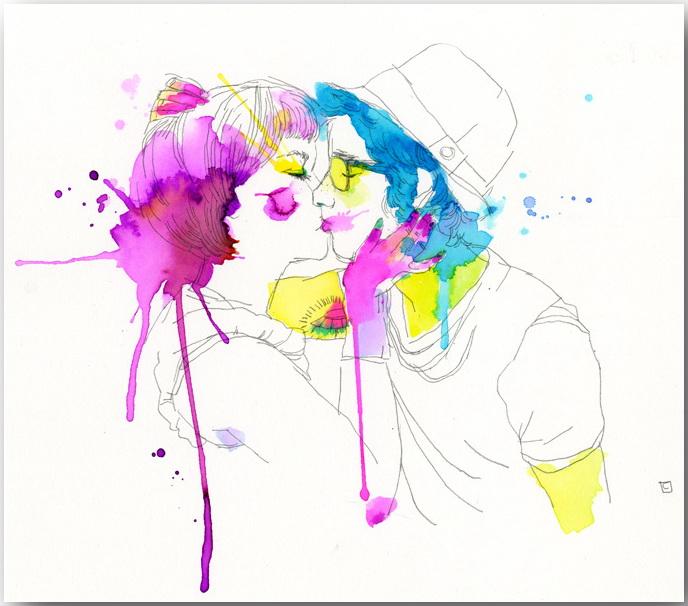"Серия иллюстраций ""Muse""_Музы Конрада Розета (Conrad Roset)_art_14"