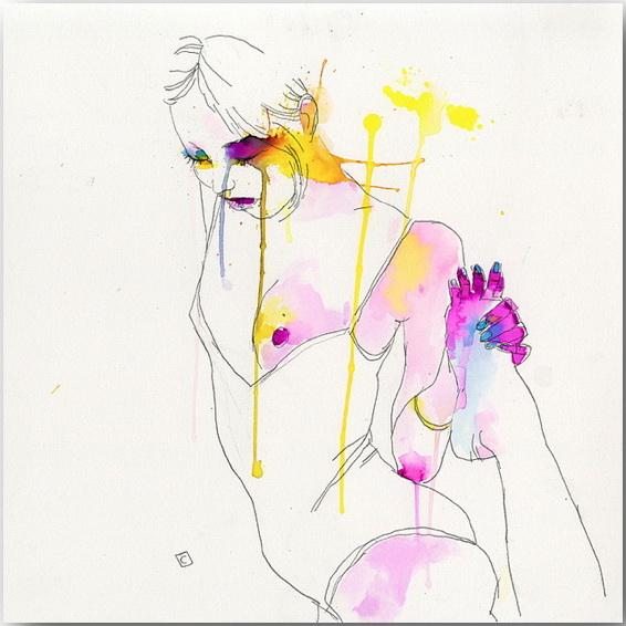 "Серия иллюстраций ""Muse""_Музы Конрада Розета (Conrad Roset)_art_16"