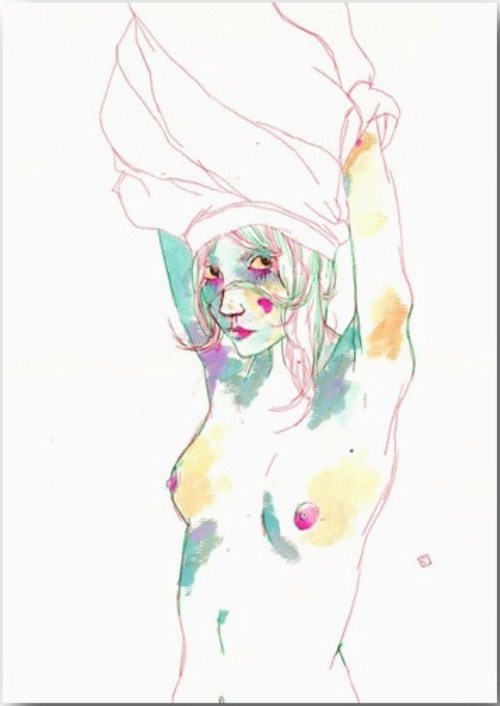 "Серия иллюстраций ""Muse""_Музы Конрада Розета (Conrad Roset)_art_17"