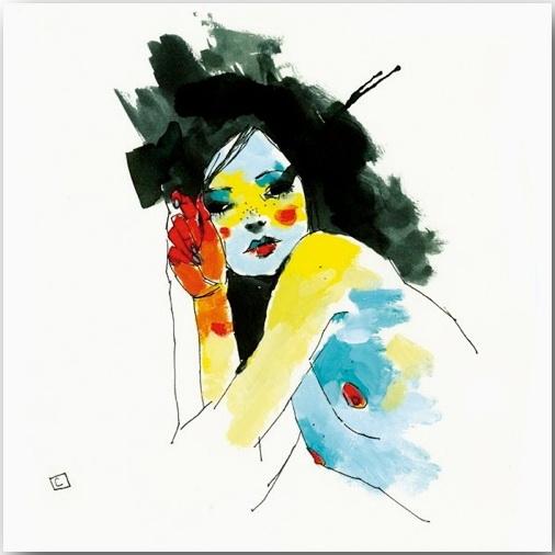 "Серия иллюстраций ""Muse""_Музы Конрада Розета (Conrad Roset)_art_19"