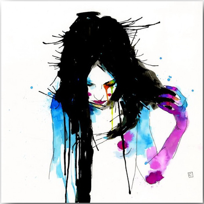 "Серия иллюстраций ""Muse""_Музы Конрада Розета (Conrad Roset)_art_20"