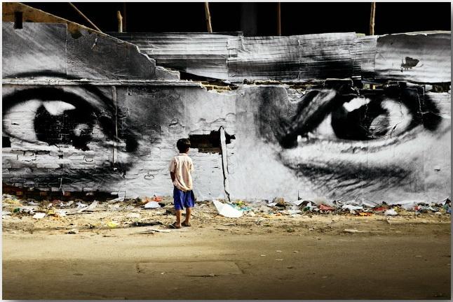 JR и его искусство без границ_Street art_03