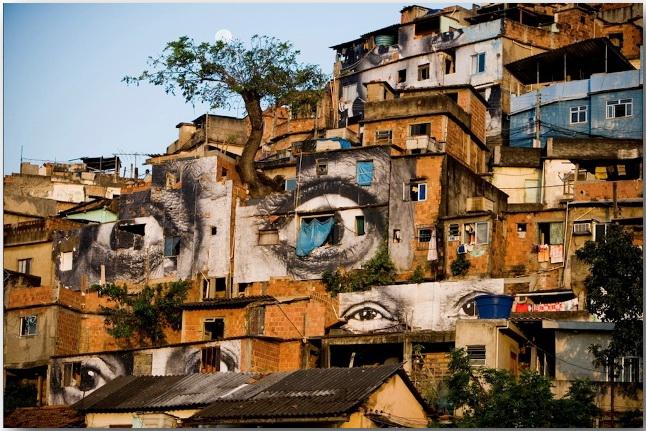 JR и его искусство без границ_Street art_04