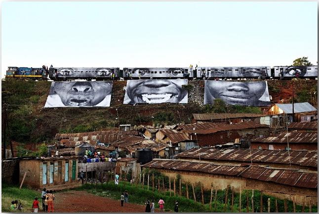 JR и его искусство без границ_Street art_06