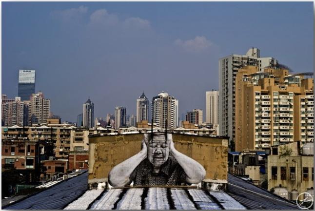 JR и его искусство без границ_Street art_10