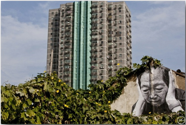 JR и его искусство без границ_Street art_11