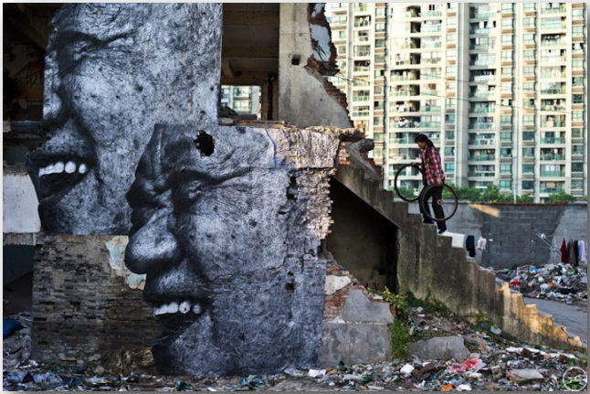 JR и его искусство без границ_Street art_12