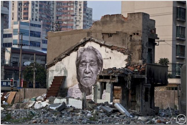 JR и его искусство без границ_Street art_13