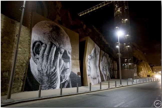 JR и его искусство без границ_Street art_16