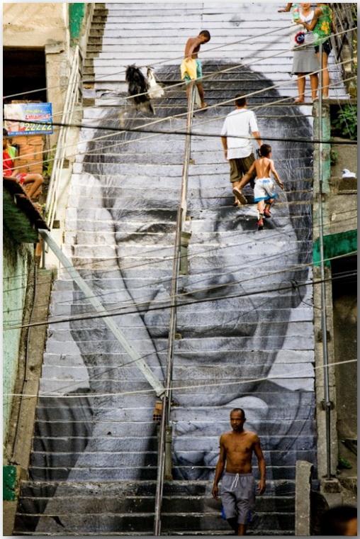 JR и его искусство без границ_Street art_18