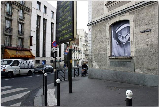 JR и его искусство без границ_Street art_19