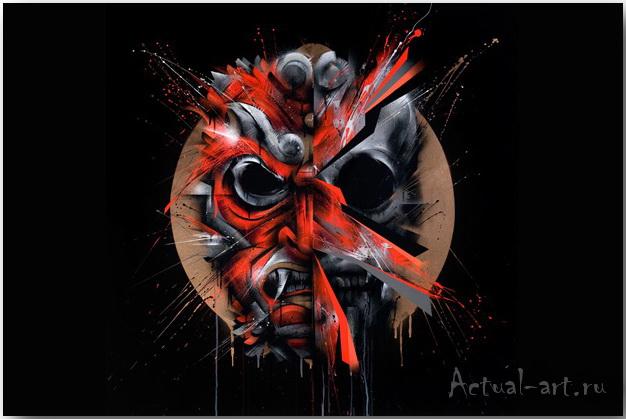 Внутренние демоны (Inner Demons) картины художника Meggs_art_08