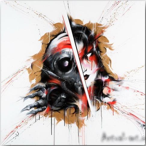 Внутренние демоны (Inner Demons) картины художника Meggs_art_13