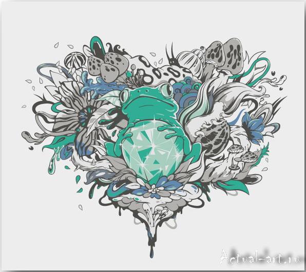 Векторные иллюстрации художницы Zutto_Vector-art_05