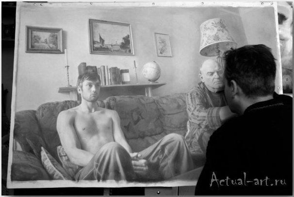 Пол Кэдден (Paul Cadden)_Живопись_art_09