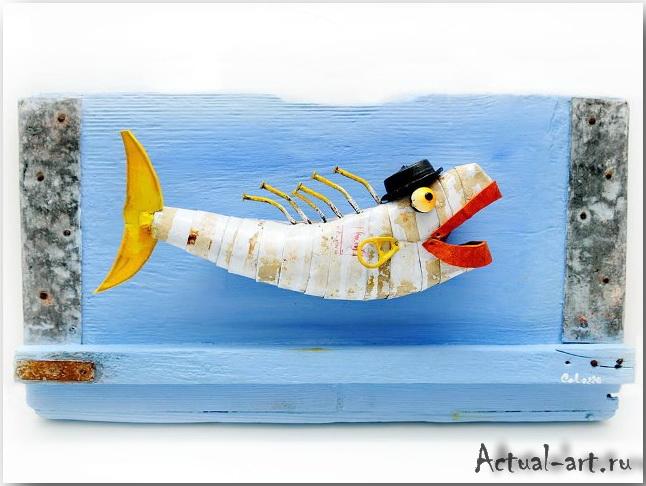 Картины из морской пучины, — работы Франческо Колоццо (Francesco Colozzo)