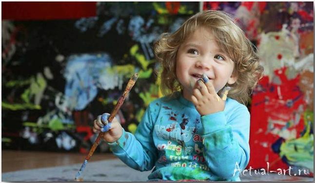 Аэлита Андре (Aelita Andre): рисую и живу