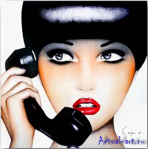 """Hello""_Аня Вн Херл (Anja Van Herle)_art_07"