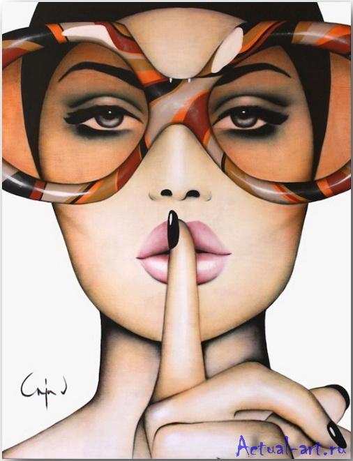 """Orange Hush""_Аня Вн Херл (Anja Van Herle)_art_11"