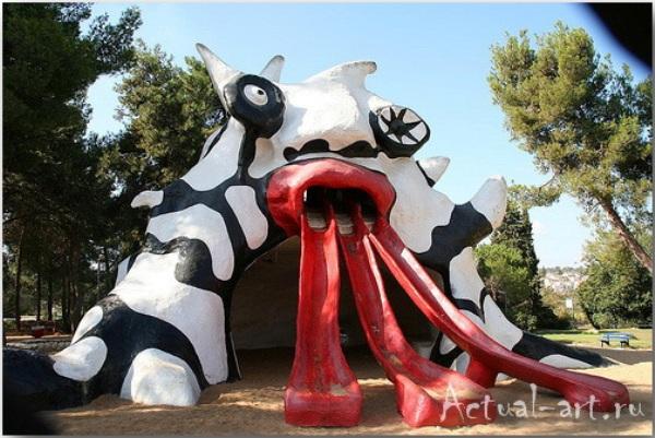 """Голем""_Ники де Сен-Фалль (Niki de Saint Phalle)_Sculptures_02"