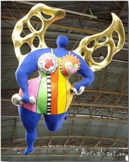 """""""Ангел-хранитель""""_Ники де Сен-Фалль (Niki de Saint Phalle)_Sculptures_04"""
