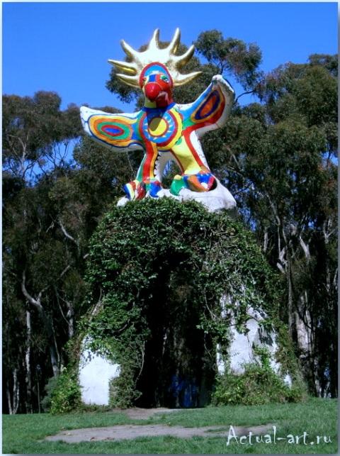 """""""Солнечный бог""""_Ники де Сен-Фалль (Niki de Saint Phalle)_Sculptures_05"""
