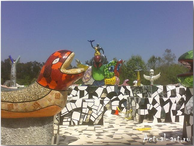 Сад Таро в Тоскане_Ники де Сен-Фалль (Niki de Saint Phalle)_Sculptures_07