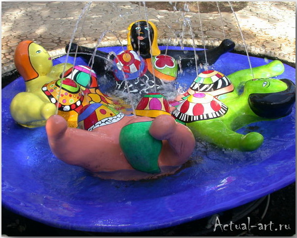 Сад Таро в Тоскане_Ники де Сен-Фалль (Niki de Saint Phalle)_Sculptures_08