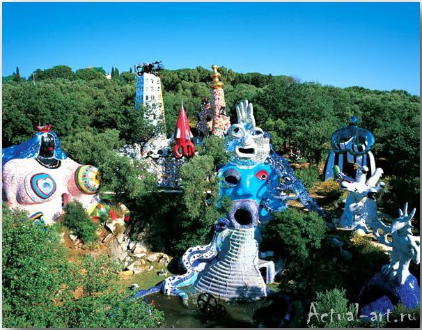 Сад Таро в Тоскане_Ники де Сен-Фалль (Niki de Saint Phalle)_Sculptures_10