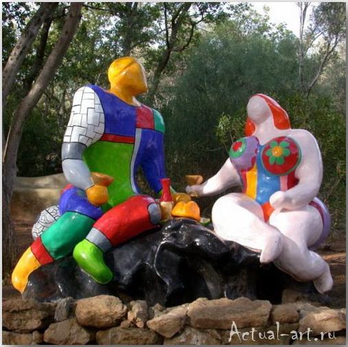 Сад Таро в Тоскане_Ники де Сен-Фалль (Niki de Saint Phalle)_Sculptures_12