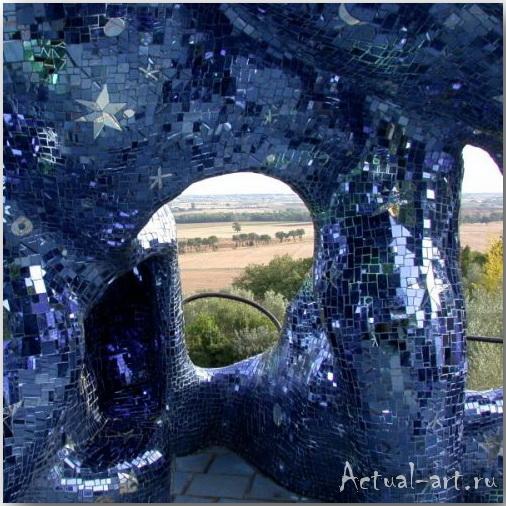 Сад Таро в Тоскане_Ники де Сен-Фалль (Niki de Saint Phalle)_Sculptures_13
