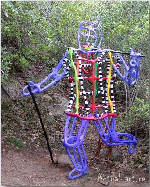 Сад Таро в Тоскане_Ники де Сен-Фалль (Niki de Saint Phalle)_Sculptures_14