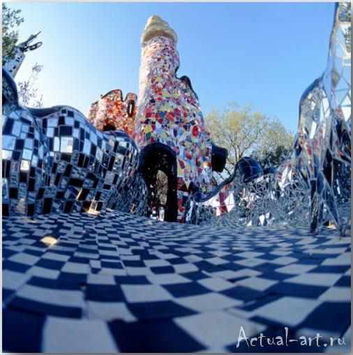 Сад Таро в Тоскане_Ники де Сен-Фалль (Niki de Saint Phalle)_Sculptures_15