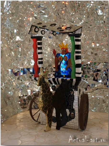 Сад Таро в Тоскане_Ники де Сен-Фалль (Niki de Saint Phalle)_Sculptures_16