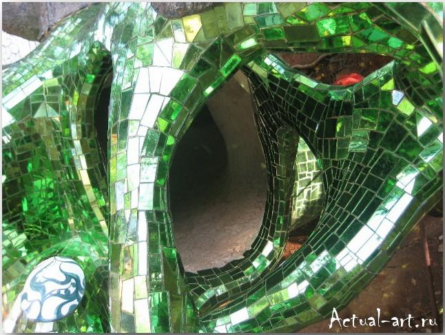 Сад Таро в Тоскане_Ники де Сен-Фалль (Niki de Saint Phalle)_Sculptures_17