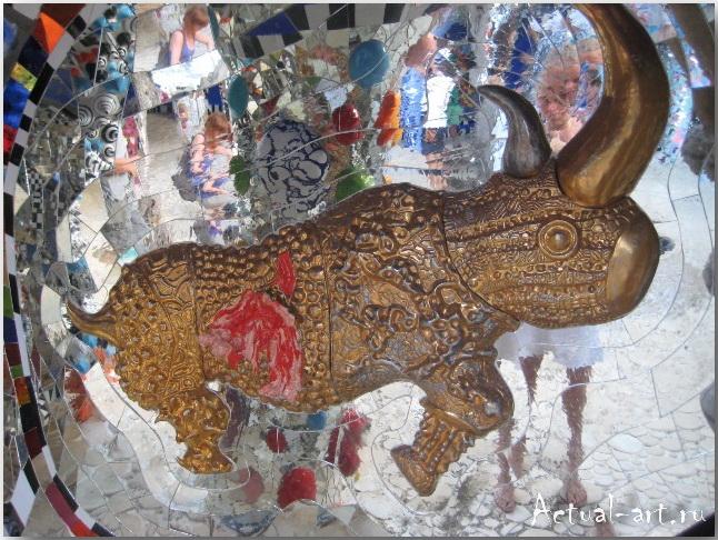 Сад Таро в Тоскане_Ники де Сен-Фалль (Niki de Saint Phalle)_Sculptures_19