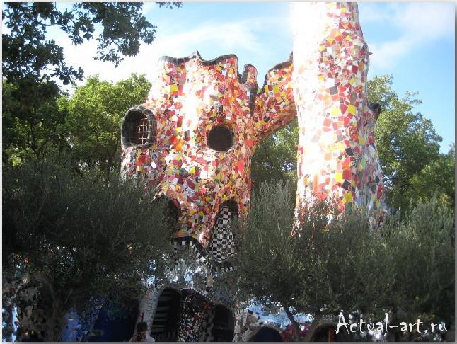 Сад Таро в Тоскане_Ники де Сен-Фалль (Niki de Saint Phalle)_Sculptures_20