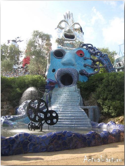 Сад Таро в Тоскане_Ники де Сен-Фалль (Niki de Saint Phalle)_Sculptures_21