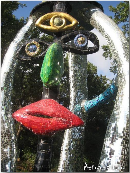 Сад Таро в Тоскане_Ники де Сен-Фалль (Niki de Saint Phalle)_Sculptures_22