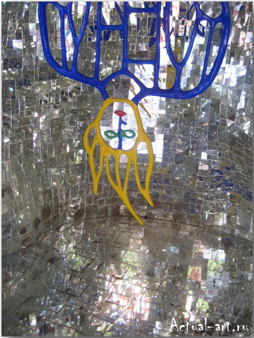 Сад Таро в Тоскане_Ники де Сен-Фалль (Niki de Saint Phalle)_Sculptures_24