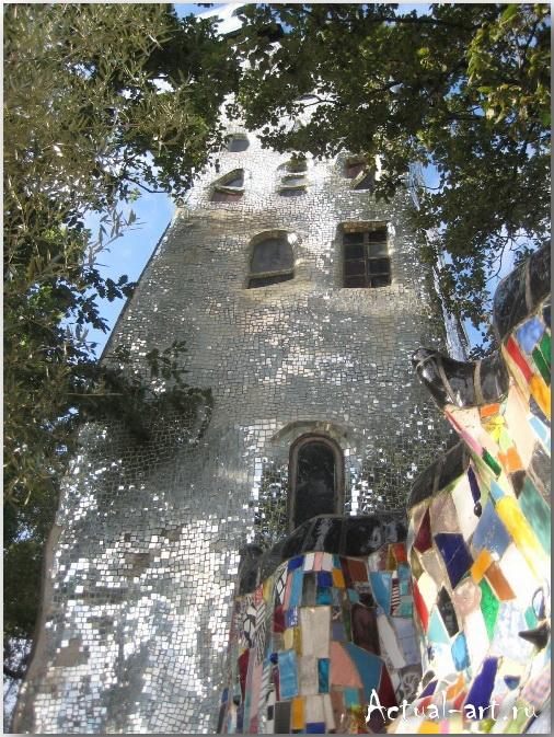 Сад Таро в Тоскане_Ники де Сен-Фалль (Niki de Saint Phalle)_Sculptures_27