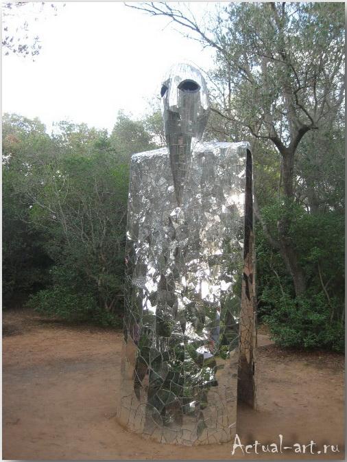 Сад Таро в Тоскане_Ники де Сен-Фалль (Niki de Saint Phalle)_Sculptures_30
