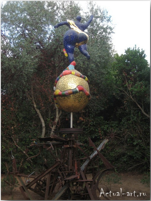 Сад Таро в Тоскане_Ники де Сен-Фалль (Niki de Saint Phalle)_Sculptures_31