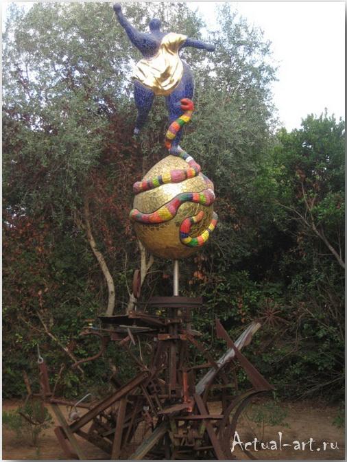 Сад Таро в Тоскане_Ники де Сен-Фалль (Niki de Saint Phalle)_Sculptures_32