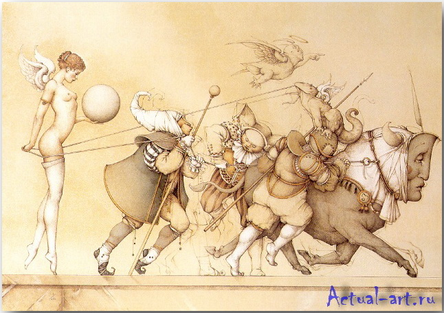 Майкл Паркес (Michael Parkes)_art_06