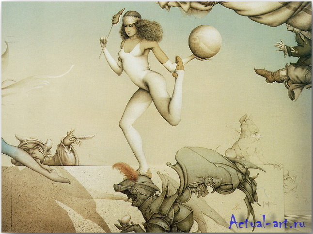 Майкл Паркес (Michael Parkes)_art_09
