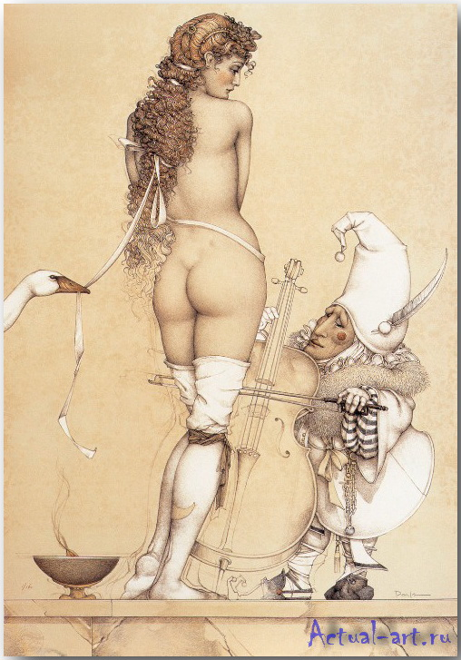 Майкл Паркес (Michael Parkes)_art_18