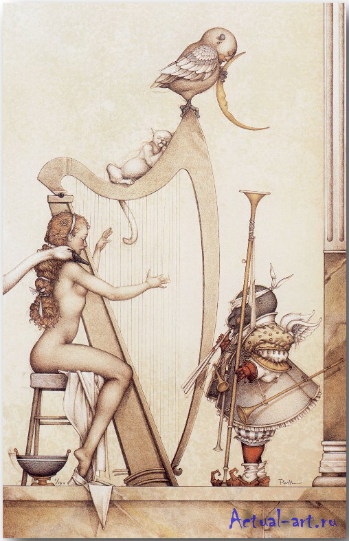 Майкл Паркес (Michael Parkes)_art_19