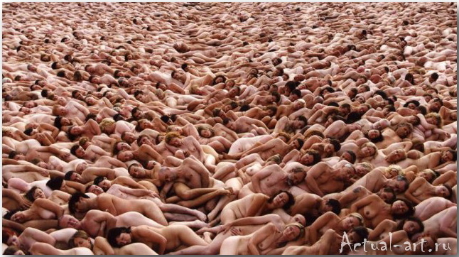 Спенсер Туник (Spencer Tunick)_art_photography_14